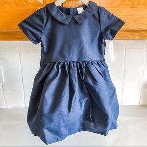 Carter's Navy Blue Holiday Dress